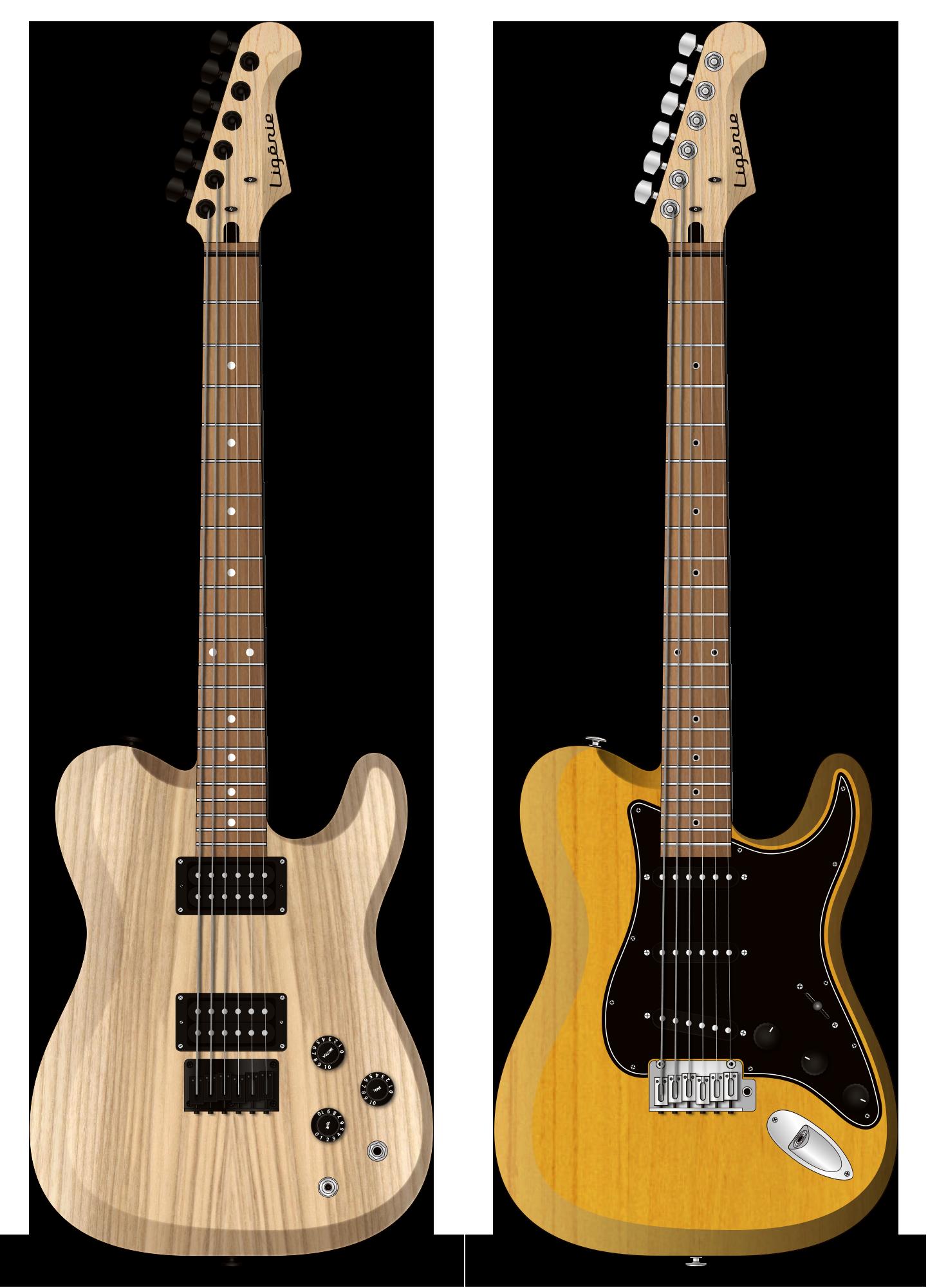 guitares électriques made in France Ligérie Othello